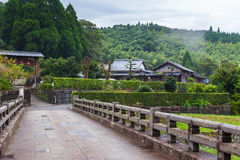 Chiran - pueblo del samurai imagen de archivo libre de regalías