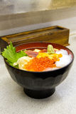 Chirashi sushi Royaltyfri Foto