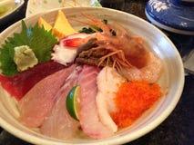Chirashi Sushi Stockfotografie
