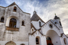 Chirch in Alberobello - Trulli village Stock Image