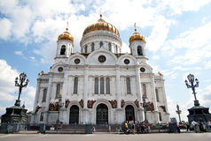 Chirch in Moscow Royalty Free Stock Image