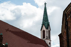 Chirch's spire Royalty Free Stock Photography