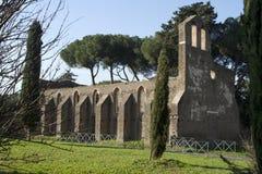 Chirch San Nicola Capo Di Bove Stock Afbeelding
