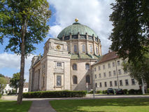 Chirch of St. Blasien, view from outside Royalty Free Stock Photography