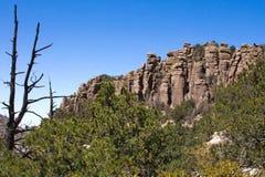 Chiricahua山 库存图片