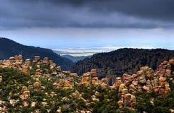 chiricahua纪念碑国民 免版税库存图片