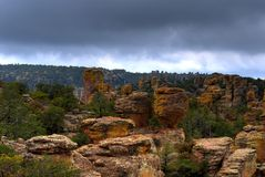 Chiricahua Mountains Stock Photography
