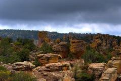 Chiricahua Mountains Stock Photography