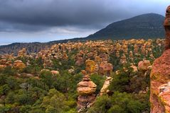Chiricahua Mountains Royalty Free Stock Photography
