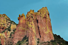 Chiricahua Mountains - Portal, Arizona Stock Images