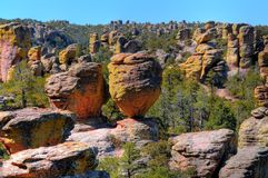 Chiricahua National Monument Royalty Free Stock Photography