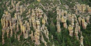 Chiricahua National Monument, Arizona. Hoodoos - Chiricahua National Monument, Arizona, United States Stock Photo