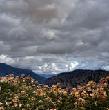 Chiricahua National Monument Arizona Royalty Free Stock Photography