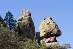 Chiricahua nationell monument Royaltyfria Bilder