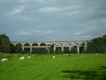 Chirk aquaduct Royalty Free Stock Images