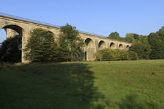Chirk Aquaduct Stock Afbeelding