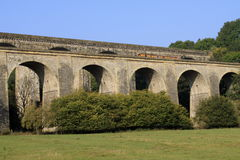 Chirk Aquaduct Royalty-vrije Stock Afbeeldingen