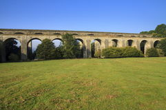 Chirk Aquaduct Royalty-vrije Stock Foto