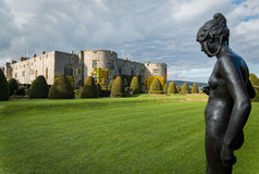 Chirk Castle Gardens Wales UK Stock Photos