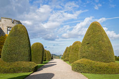 Chirk Castle Gardens Wales UK Royalty Free Stock Photography