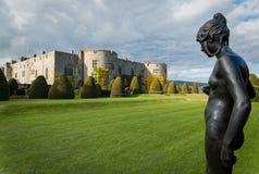 Chirk i giardini Galles Regno Unito del castello Fotografie Stock