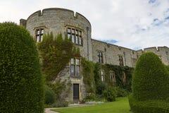 Chirk o castelo e o seu jardim, Gales, Inglaterra foto de stock royalty free