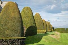 Chirk slottträdgårdar Wales UK Royaltyfria Bilder