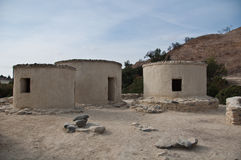 Chirokitia Neolithic Settlement in Cyprus Stock Photography