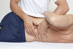 Chiropractic care Stock Image