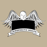 Chiropractic Health Symbol stock illustration