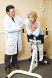 Chiropractic Physical Therapy Royalty Free Stock Photo