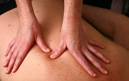 Chiropractise clinic Stock Image