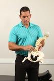 chiropractor royalty-vrije stock fotografie
