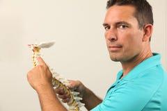 chiropractor stock afbeelding