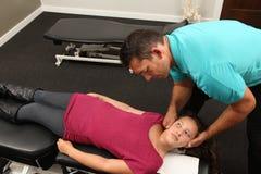 chiropractor Immagine Stock