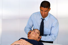 Chiropractor Royalty Free Stock Image