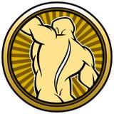 Chiropractor Seal Stock Photo