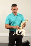 Chiropractor Royalty Free Stock Photography