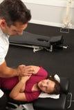Chiropractor Royalty Free Stock Photos