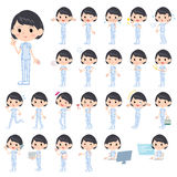 Chiropractor woman Royalty Free Stock Images