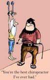 Chiropractor royalty free illustration