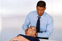 chiropraktor Lizenzfreies Stockbild