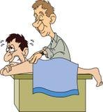 Chiropratico o massaggiatore Fotografia Stock Libera da Diritti