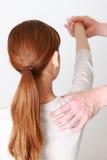 chiropraxie Images libres de droits
