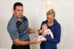 Chiroterapia pediatrica Immagini Stock