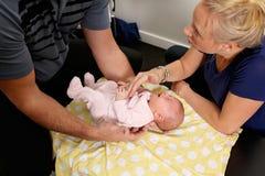 Chiroterapia pediatrica Fotografia Stock Libera da Diritti
