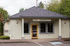 Chiroterapia Springfield Oregon della famiglia Fotografie Stock Libere da Diritti