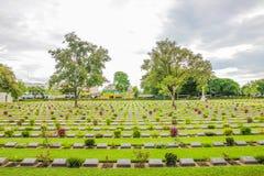 Christ Graveyard. In Kanchanaburi, Thailand royalty free stock photography