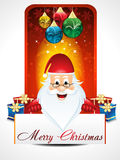 Chirstmas background with santa claus Royalty Free Stock Photos