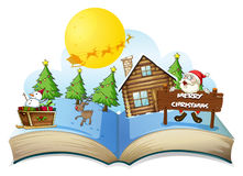 Chirstmas book Royalty Free Stock Photos